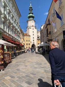 Pedestrian Street in Bratislava